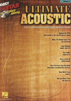 Hal Leonard Easy Guitar Play-Along Ultim.
