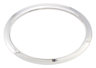"Bass Drum O's 6"" Chrome Oval HOC6"