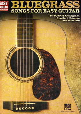 Hal Leonard Bluegrass Songs f. Easy Guitar