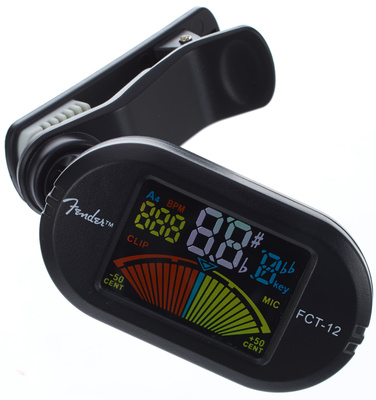 Fender FCT-12 Color Clip Tuner