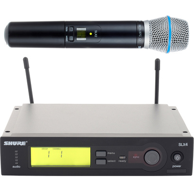 Shure SLX / Beta 87C Set / P4