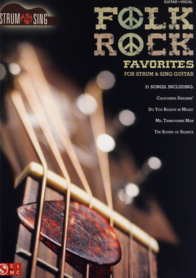 Hal Leonard Folk Rock Favourites| Strum