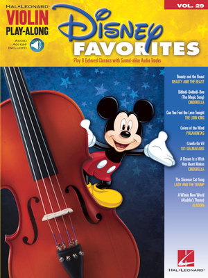 Hal Leonard Violin Play-Along| Disney