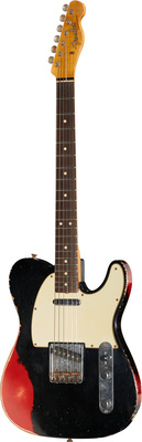 Fender 62 Tele Hvy Relic BK/CAR LTD
