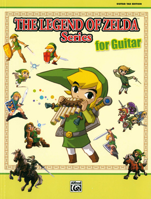 Alfred Music Publishing Legend Of Zelda Guitar