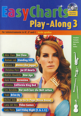 Schott Easy Charts 3 Play-Along